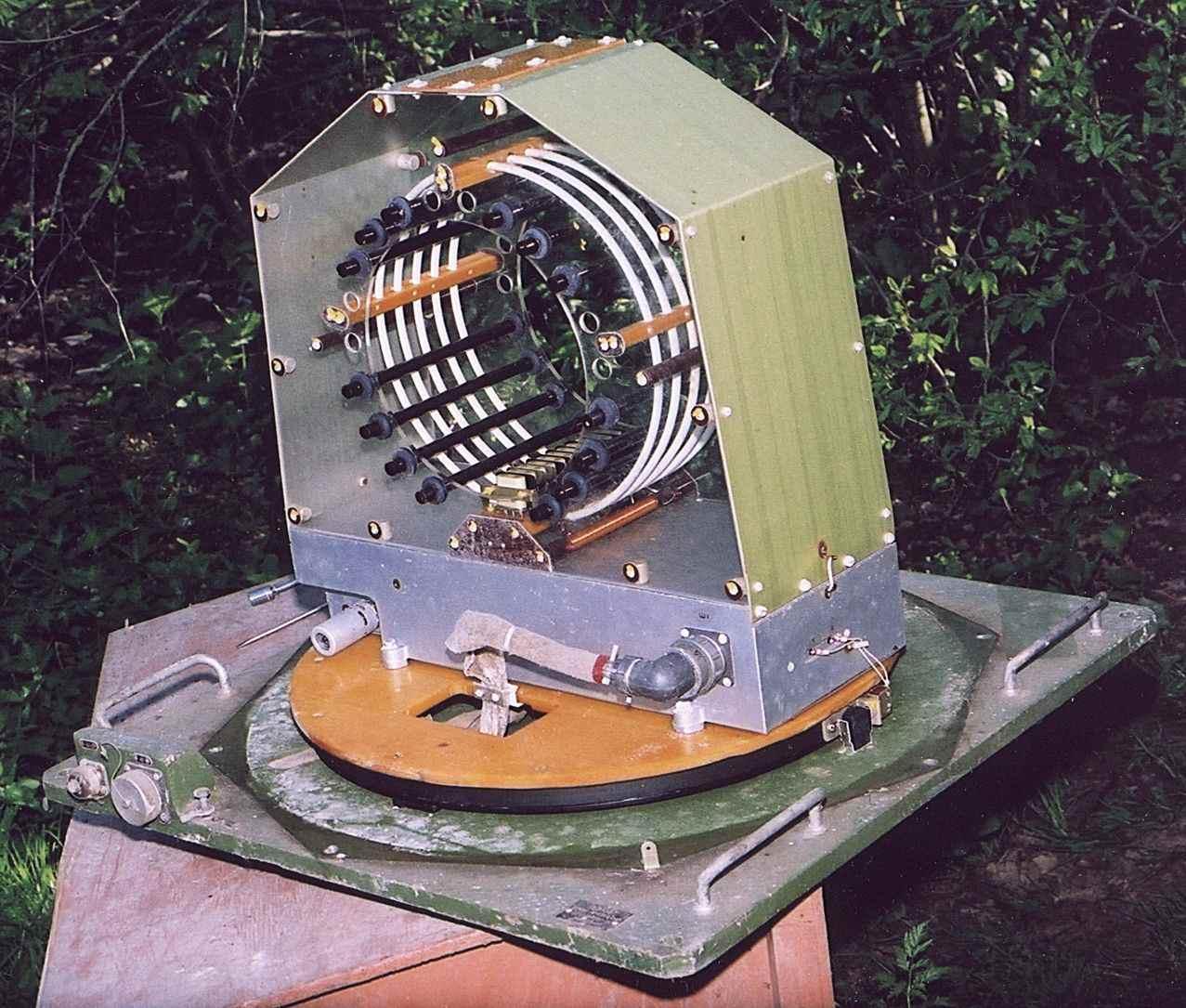 Магнитная рамочная антенна с индуктивной настройкой ...