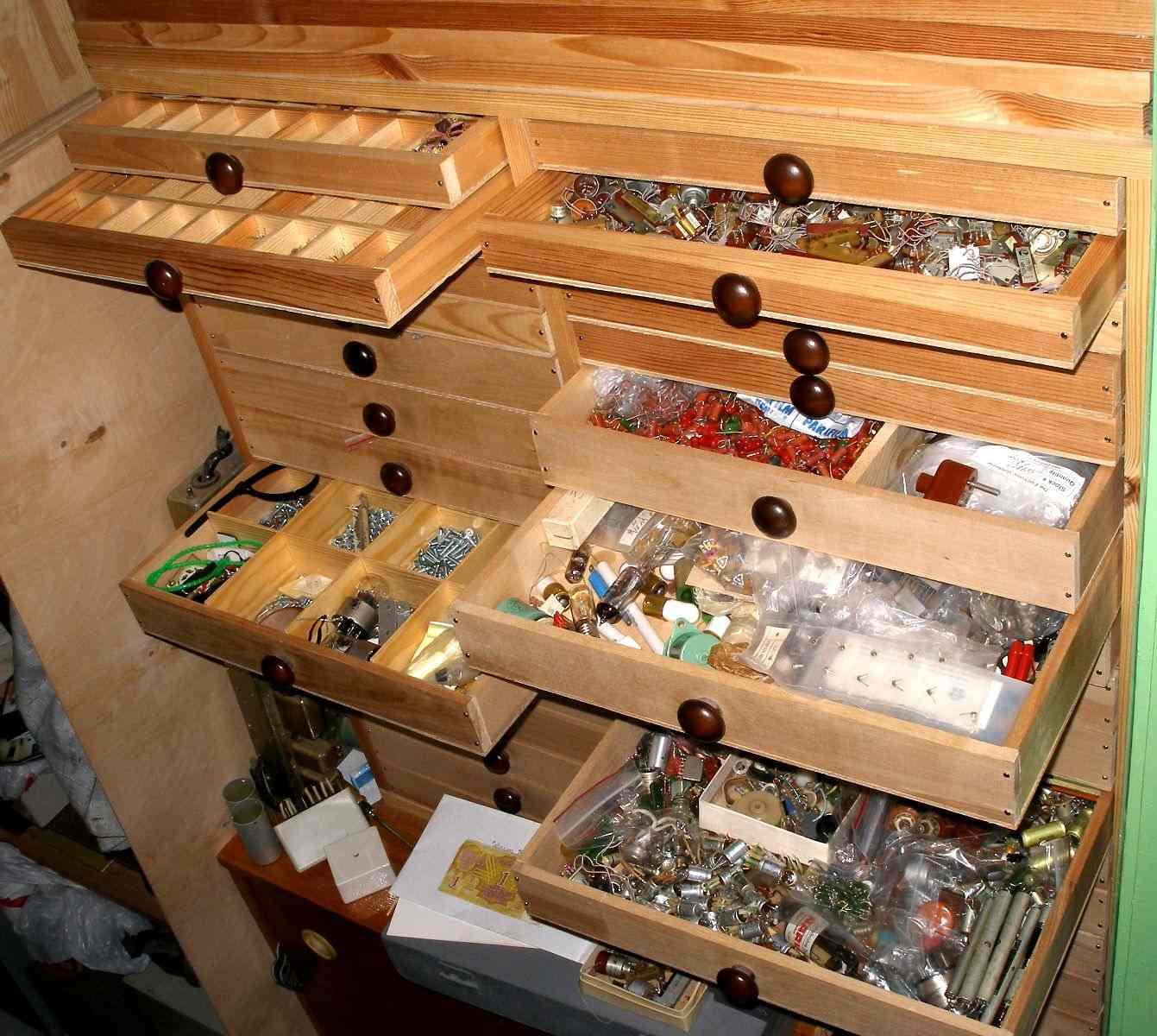 Как сделать ящики для мелочей своими руками 95