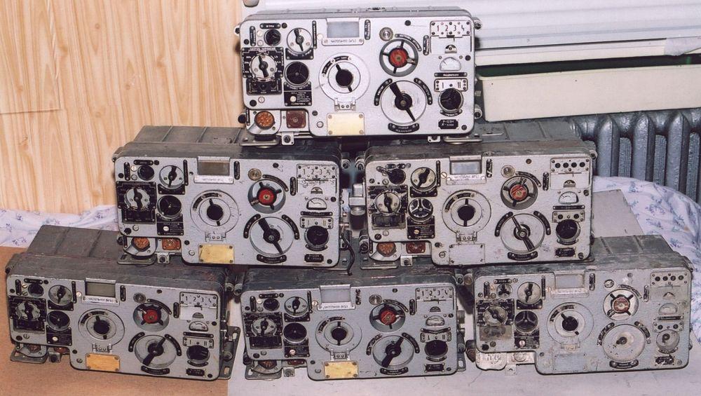 Had 135015 танковая радиостанция р-123 на советской технике 1970-1980 годы 1/35