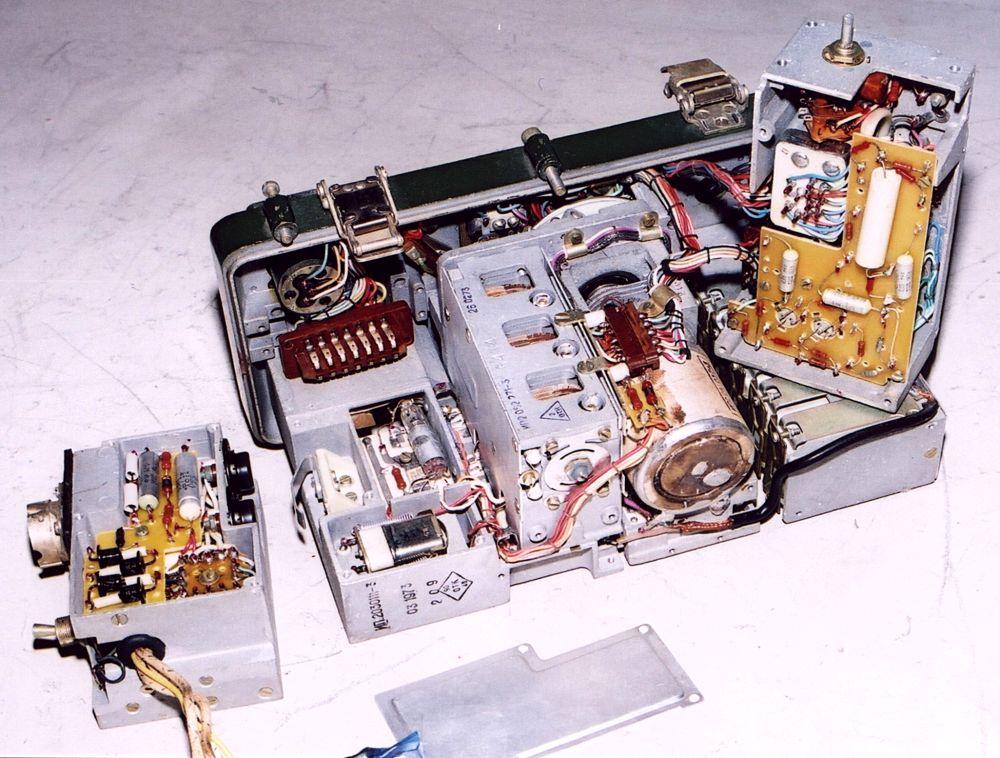 Радиостанция Р-140М - Музей небытовой электроники
