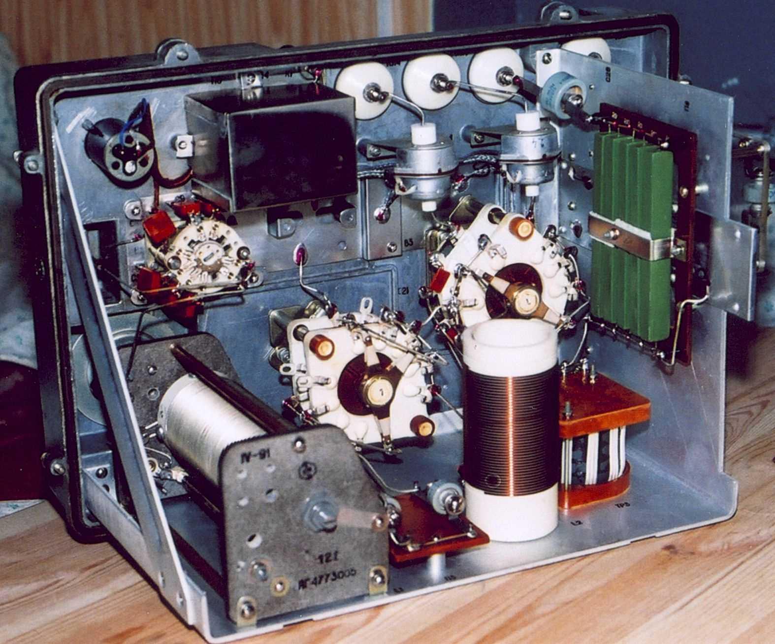 электрическая схема радиостанции р-142н