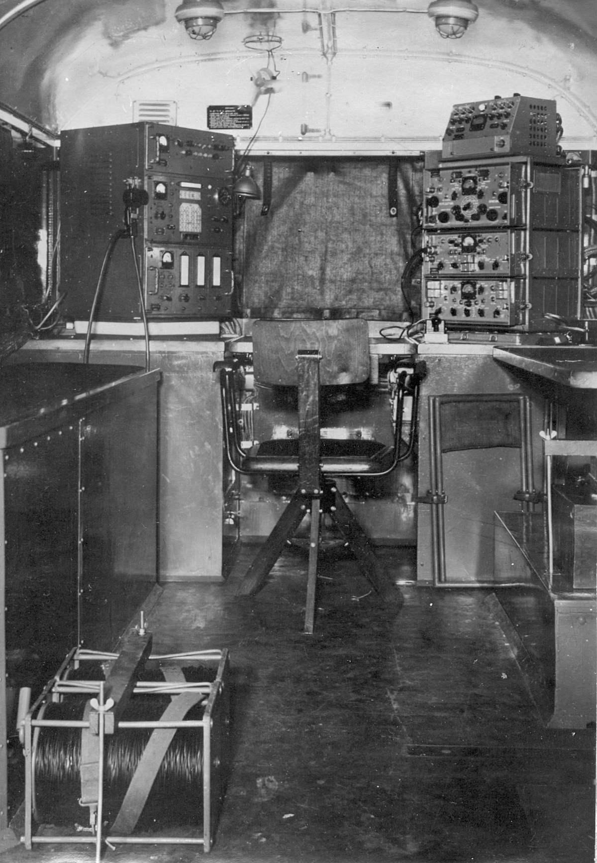 1968 радиостанция Р-140, спецприцеп внутри - вещи - иллюстрации - Фотоальбомы - истории быта.