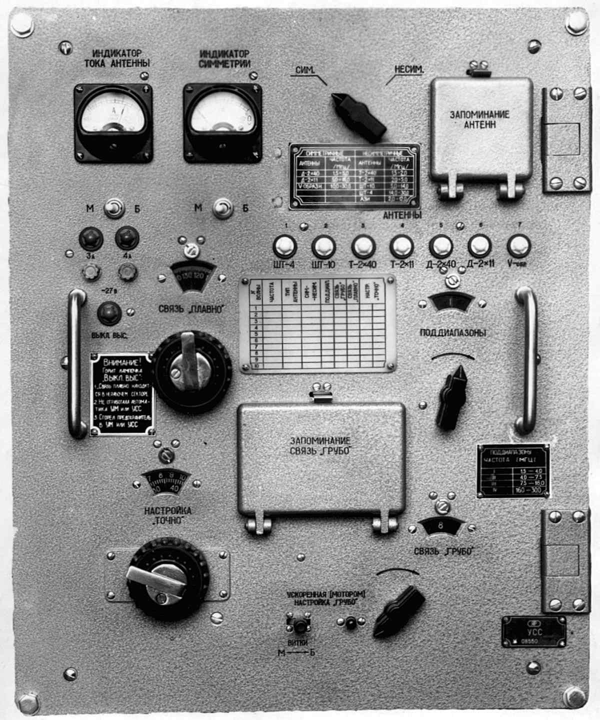 Устройство согласующе-симметрирующее радиостанции типа Р-140 ...